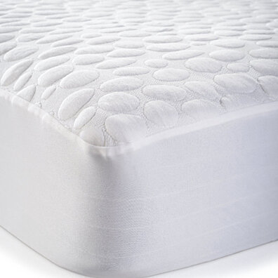 Greenzone Pebbletex Tencel Cotton Waterproof Mattress Protector - Queen