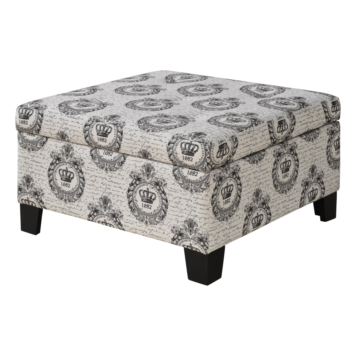 Lockport Royal Crest Storage Ottoman