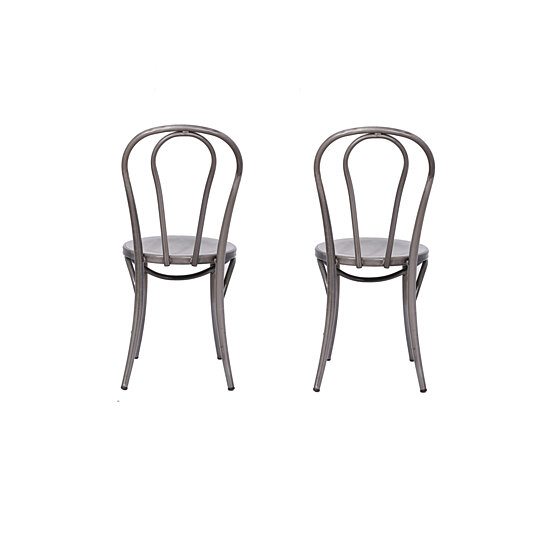 Buy Michael Anthony Furniture Bistro Chair Distressed Metal 2pk By Michael Anthony Furniture On