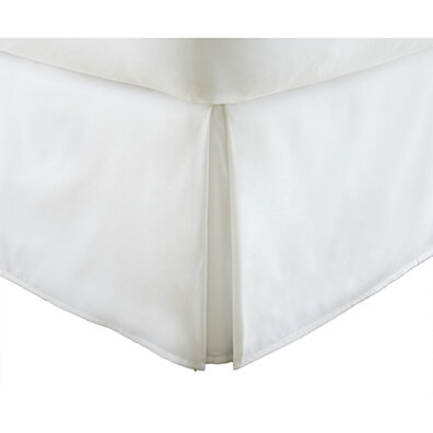Michael Anthony Queen Microfiber Bed Skirt- White
