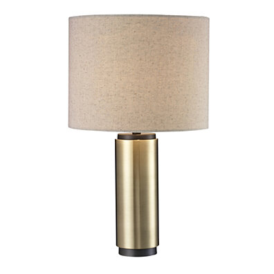 Parker Antique Brass Table Lamp - 22-inch