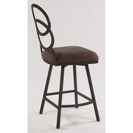 Buy Ring Back Cushioned Counter Height Stool By Michael