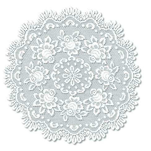 Buy rose 30 round table topper off white by michael for Off white round table
