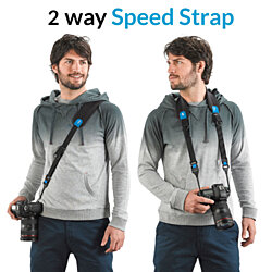 miggo Two Way Speed Strap for DSLR and Mirorless Cameras