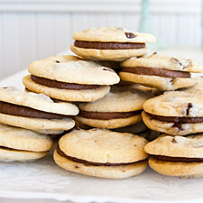 Chocolate Chip Sandwich Cookies by Mimi's Cookie Bar