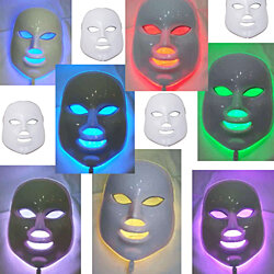 7 Colors LED Mask 150 LED Lights Photon Skin Rejuvenation Therapy Reduces Wrinkles