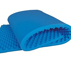 Convoluted Bed Egg Crate Twin - Size Bed Pad, Blue