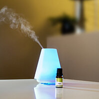 Lamp Shade Ultrasonic Aroma  Diffuser With Free 10ml Oil