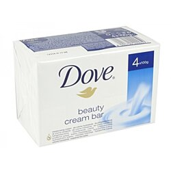 Dove Soap Creme Bar 4 Pack 100G-White