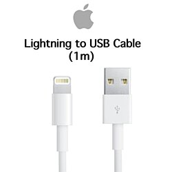 Apple Original Lightning To USB Cable MD818AM/A For iPhone 5, 6, 7, 8, X -