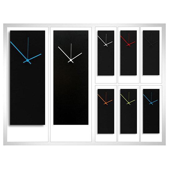 Buy Minimalist Art Blackout Black Clock Large 8 25 Quot X22
