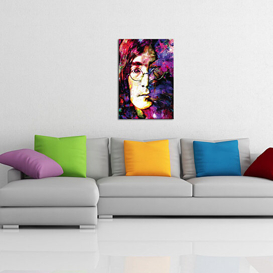 Wall Decor John Lewis : Buy pop art john lennon culture icon painting