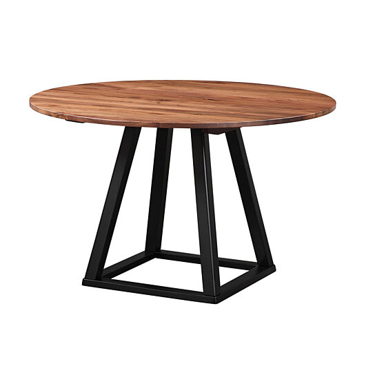 buy tri mesa 48 quot round dining table by moe 39 s home