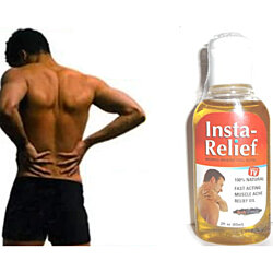 Body  100% Natural Muscle Ache Oil Pain Relief