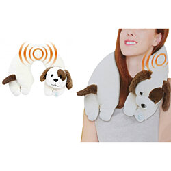 Healthy Dog Neck Massager Relaxing Treatment
