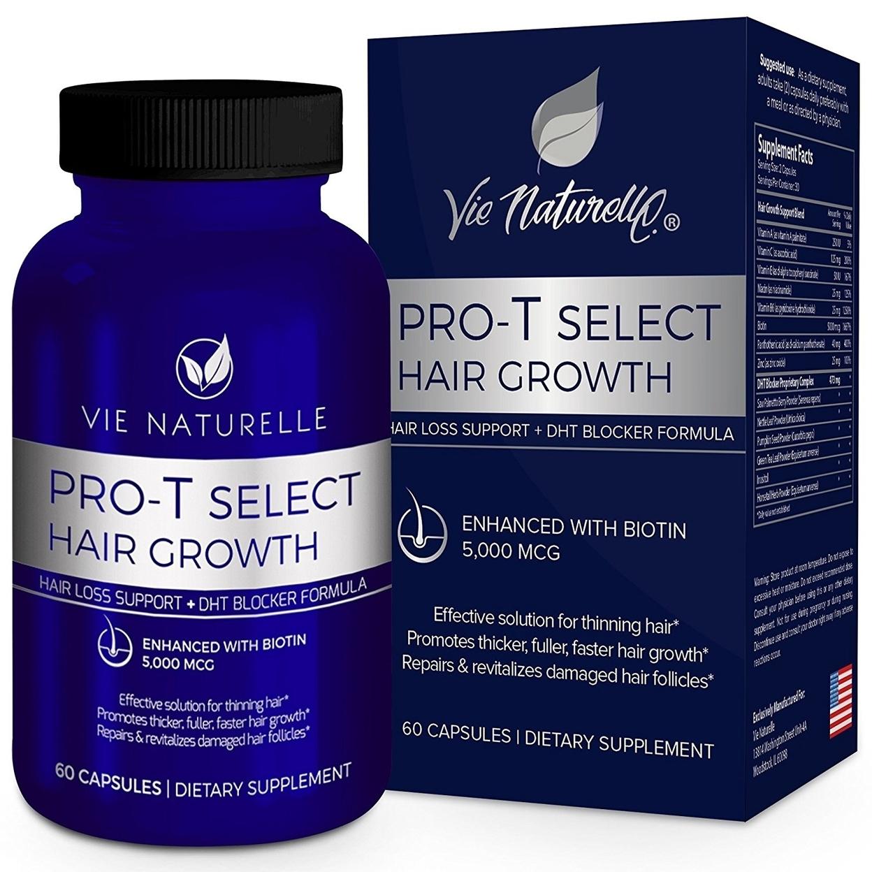 Vie Naturelle Hair Loss Vitamins + DHT Blocker Supplement 58f7956cc98fc462b30d9f4f