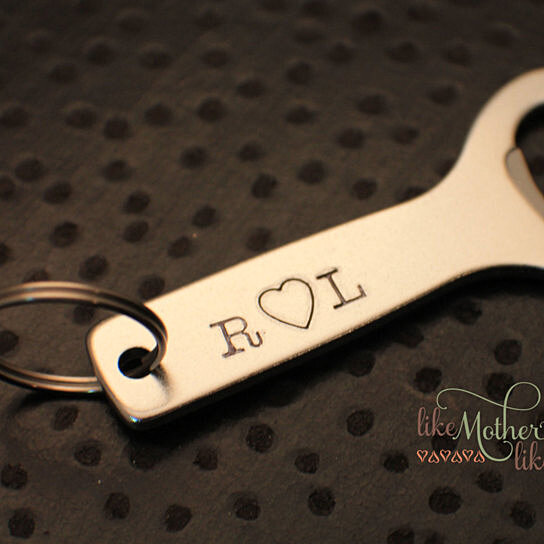 buy fathers day gift personalized keychain for him personalized bottle opener gift for him. Black Bedroom Furniture Sets. Home Design Ideas