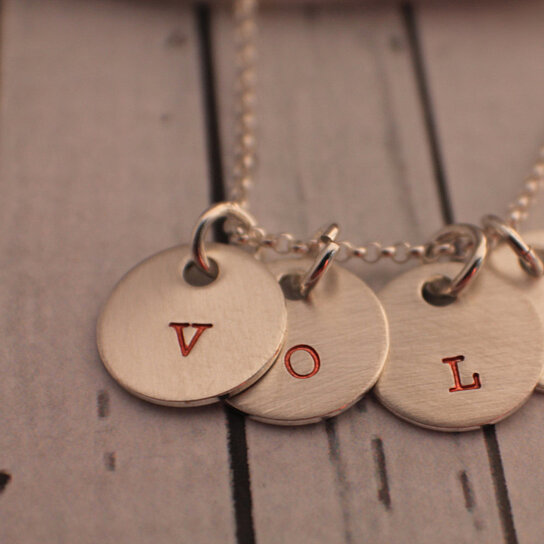 Weight Lifting Equipment In Honolulu: Buy Hand Stamped Necklace