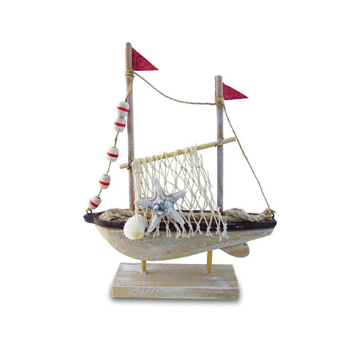 Buy 9201 Nautical And Home Decor Brown Fishing Boat By