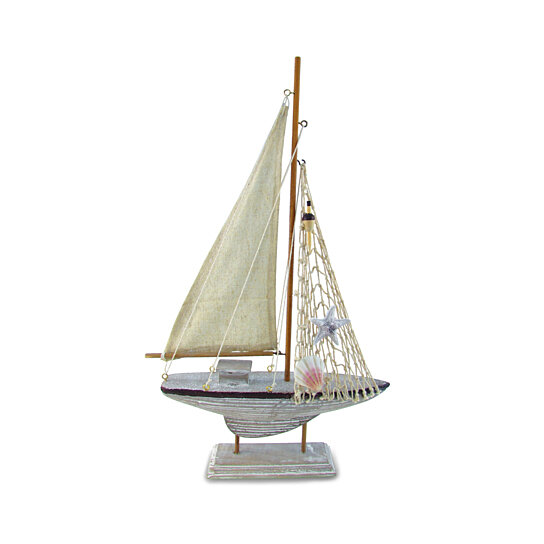 Buy 9208 Nautical And Home Decor Brown Sailboat By