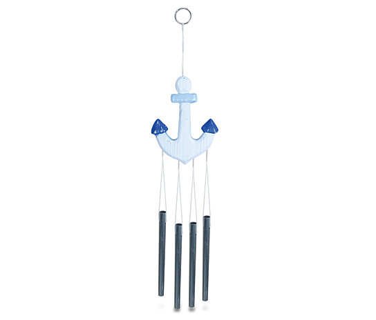 Buy 9316 Nautical And Home Decor Light Blue Anchor Wind