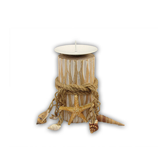 buy 9251 nautical and home decor small wooden candle home decor fancy glaze ceramic candle holder on okcandle com