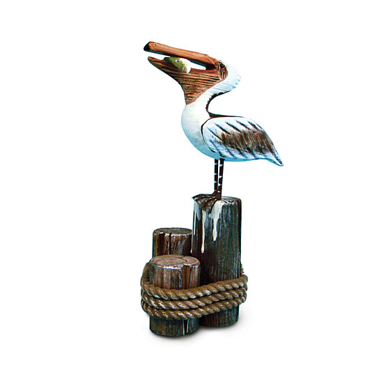Buy 8603 Nautical And Home Decor Standing Pelican By