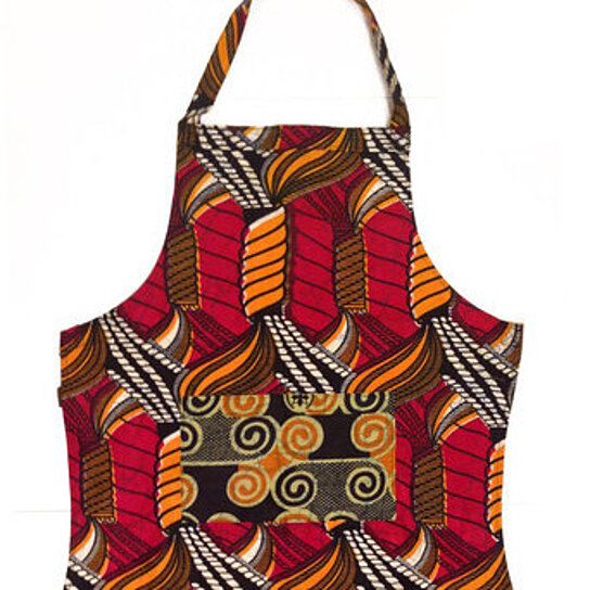Buy 100 Cotton Handmade African Print Kitchen Apron By