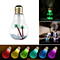 Glow Bulb Multi-Color LED Humidifier