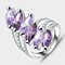 Cascading Purple Ring