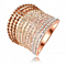 Cluster Crystals Fashion Ring