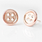 *Special - Free Shipping * Cute as a Button Earrings