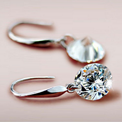 SPECIAL SALE: Crystal Drop Earrings in Various Colors and Sizes
