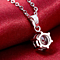GET FREE EARRINGS :: 1.5 Carat Solitaire Pendant Necklace