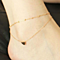Heart Layered Anklet