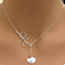 *SALE* Free Shipping - Journey - Bird and Leaf Lariat Necklace