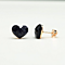 Night Sky Heart Earrings