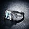 HOLIDAY SPECIAL: Past Present Future  - An Emerald and Princess Cut Crystal Ring
