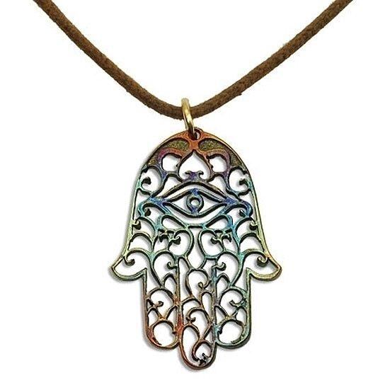 buy peace bronze hamsa polished bronze on adjustable
