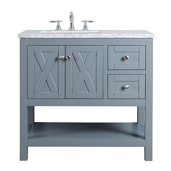 Buy Anabelle 36 Inches Single Sink Bathroom Vanity By Myhomeandbath Com On Dot Bo