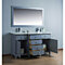 Cadence 60 inch Double Sink Bathroom Vanity with Mirror