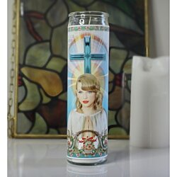 Taylor Swift Celebrity Prayer Candle
