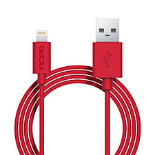 Incipio Lightning Charger & Sync Cable - Red