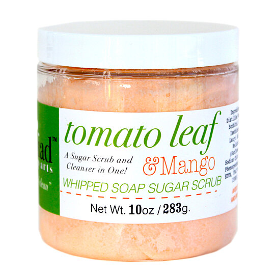 Buy {NEW} Tomato Leaf & Mango Whipped Soap Sugar Scrub by Naiad Soap ...