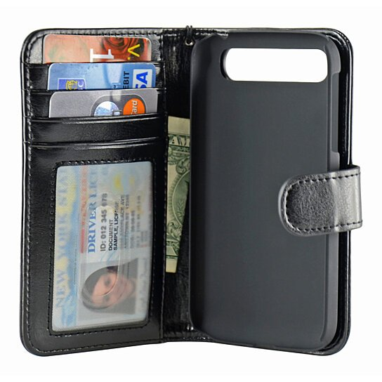 Classic Book Cover Phone Cases : Buy navor blackberry classic folio wallet leather case for