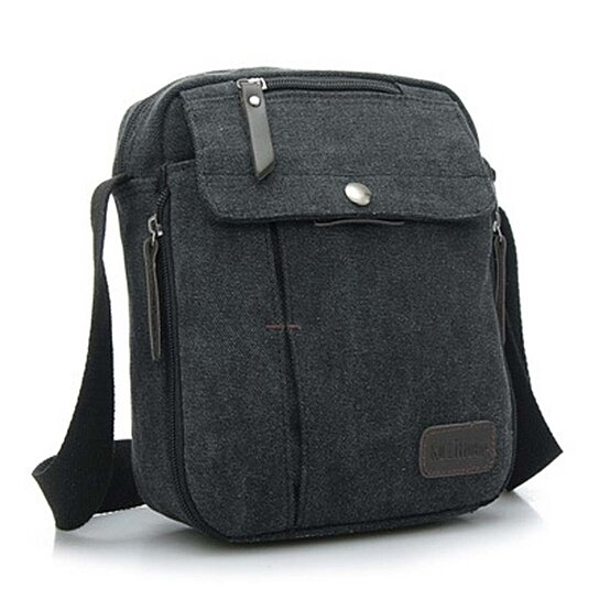 da6e0f1382 Trending product! This item has been added to cart 11 times in the last 24  hours. Navor Men s Small Vintage Multipurpose Canvas Shoulder Bag ...
