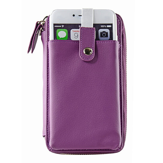 Iphone  Plus Purse With Shoulder Strap