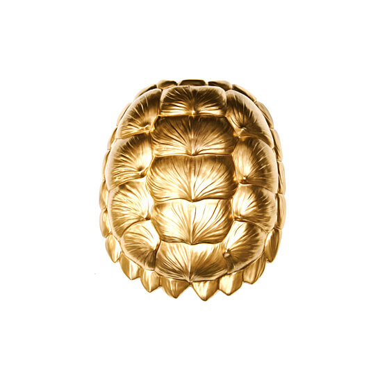 Buy The Bayou In Gold Large Faux Resin Turtle Shell