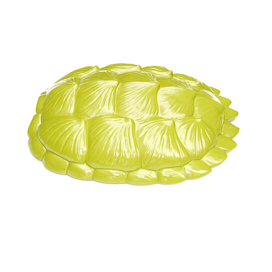 Buy The Bayou In Green Large Faux Resin Turtle Shell