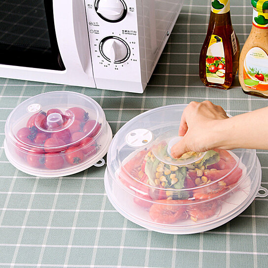 Food Sealing Lid Microwave Oven Fridge Dish Plate Dustproof Cover Popular